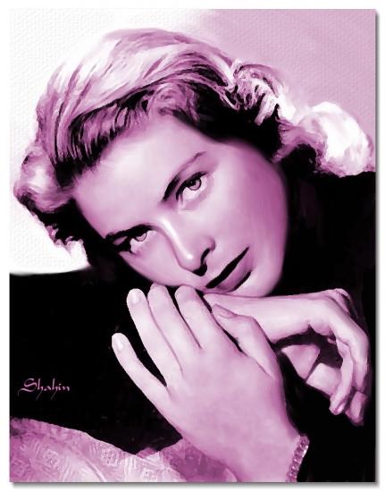 Ingrid Bergman par shahin